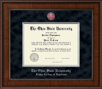 The Ohio State University Diploma Frame - Presidential Masterpiece Diploma Frame in Madison