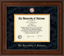 The University of Alabama Tuscaloosa Diploma Frame - Presidential Crimson Masterpiece Diploma Frame in Madison
