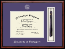University of Bridgeport Diploma Frame - Tassel Edition Diploma Frame in Southport