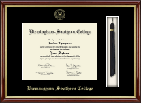 Birmingham-Southern College Diploma Frame - Tassel Edition Diploma Frame in Southport Gold