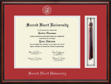 Sacred Heart University Diploma Frame - Tassel Edition Diploma Frame in Southport