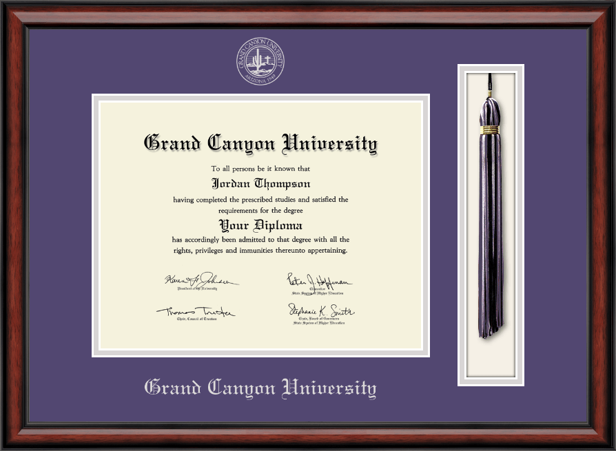 grand canyon university tassel edition diploma frame in southport item 245863. Black Bedroom Furniture Sets. Home Design Ideas
