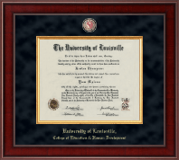 University of Louisville Diploma Frame - Presidential Masterpiece Diploma Frame in Jefferson
