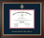 Kennedy Catholic High School in Somers, NY Diploma Frame - Gold Embossed Diploma Frame in Studio Gold