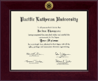 Pacific Lutheran University Diploma Frame - Century Gold Engraved Diploma Frame in Cordova