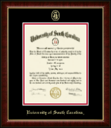 University of South Carolina Diploma Frame - Gold Embossed Diploma Frame in Murano
