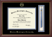 Western Washington University Diploma Frame - Tassel Edition Diploma Frame in Newport