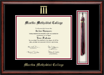 Martin Methodist College Diploma Frame - Tassel Edition Diploma Frame in Southport