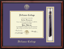 Defiance College Diploma Frame - Tassel Edition Diploma Frame in Southport