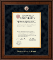 Harvard University Diploma Frame - Presidential Masterpiece Diploma Frame in Madison