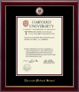 Harvard University Diploma Frame - Masterpiece Medallion Diploma Frame in Gallery