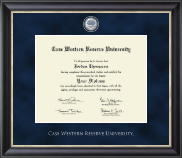 Case Western Reserve University Diploma Frame - Regal Edition Diploma Frame in Noir