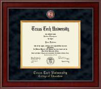 Texas Tech University Diploma Frame - Presidential Masterpiece Diploma Frame in Jefferson