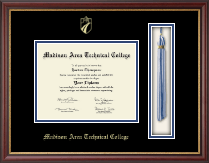 Madison Area Technical College Diploma Frame - Tassel Edition Diploma Frame in Newport