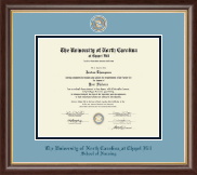 University of North Carolina Chapel Hill Diploma Frame - Masterpiece Medallion Diploma Frame in Hampshire