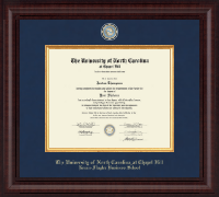 University of North Carolina Chapel Hill Diploma Frame - Presidential Masterpiece Diploma Frame in Premier