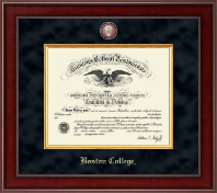 Boston College Diploma Frame - Presidential Masterpiece Diploma Frame in Jefferson