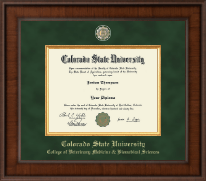 Colorado State University Diploma Frame - Presidential Masterpiece Diploma Frame in Madison