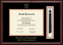 South University, West Palm Beach Diploma Frame - Tassel Edition Diploma Frame in Southport