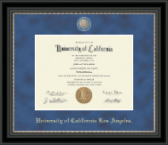 University of California Los Angeles Diploma Frame - Regal Edition Diploma Frame in Noir