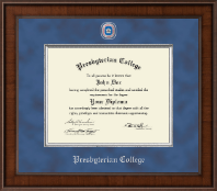 Presbyterian College Diploma Frame - Presidential Masterpiece Diploma Frame in Madison