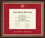 Azusa Pacific University Diploma Frame - Gold Embossed Diploma Frame in Hampshire