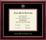 Azusa Pacific University Diploma Frame - Gold Embossed Diploma Frame in Gallery