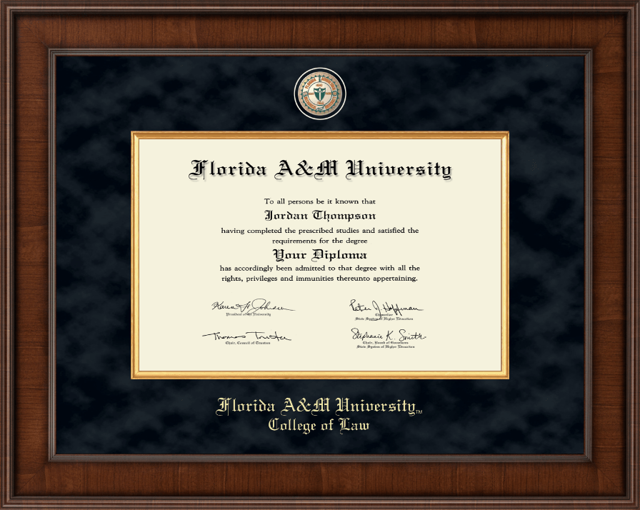 Florida A Amp M University Presidential Masterpiece Diploma