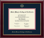 Saint Mary's College of California Diploma Frame - Gold Embossed Diploma Frame in Gallery