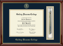 Goldey-Beacom College Diploma Frame - Tassel Edition Diploma Frame in Southport Gold