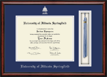 University of Illinois Springfield Diploma Frame - Tassel Edition Diploma Frame in Southport