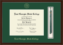 East Georgia State College Diploma Frame - Tassel Edition Diploma Frame in Delta