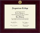 Augustana College South Dakota Diploma Frame - Century Gold Engraved Diploma Frame in Cordova