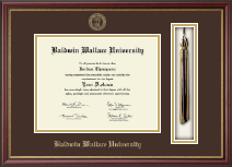 Baldwin Wallace University Diploma Frame - Tassel Edition Diploma Frame in Newport