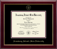 Armstrong Atlantic State University Diploma Frame - Gold Embossed Diploma Frame in Gallery