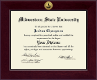 Midwestern State University Diploma Frame - Century Gold Engraved Diploma Frame in Cordova