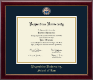 Pepperdine University Diploma Frame - Masterpiece Medallion Diploma Frame in Gallery
