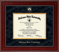 Alabama State University Diploma Frame - Presidential Masterpiece Diploma Frame in Jefferson