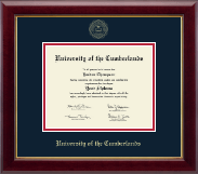 University of the Cumberlands Diploma Frame - Gold Embossed Diploma Frame in Gallery