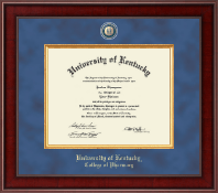 University of Kentucky Diploma Frame - Presidential Masterpiece Diploma Frame in Jefferson