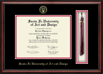 Santa Fe University of Art and Design Diploma Frame - Tassel Edition Diploma Frame in Southport