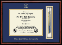 San Jose State University Diploma Frame - Tassel Edition Diploma Frame in Southport