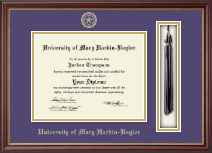 University of Mary Hardin Baylor Diploma Frame - Tassel Edition Diploma Frame in Newport