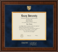 Emory University  Diploma Frame - Presidential Masterpiece Diploma Frame in Madison