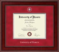University of Phoenix Diploma Frame - Presidential Masterpiece Diploma Frame in Jefferson