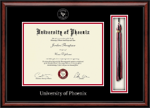University of Phoenix Diploma Frame - Tassel Edition Diploma Frame in Southport