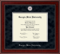 Georgia State University Diploma Frame - Presidential Masterpiece Diploma Frame in Jefferson