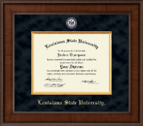 Louisiana State University Diploma Frame - Presidential Masterpiece Diploma Frame in Madison