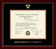 Princeton University Diploma Frame - Gold Embossed Diploma Frame in Sutton