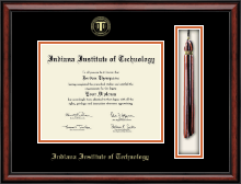 Indiana Institute of Technology Diploma Frame - Tassel Edition Diploma Frame in Southport